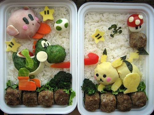 Nintendo Food Box