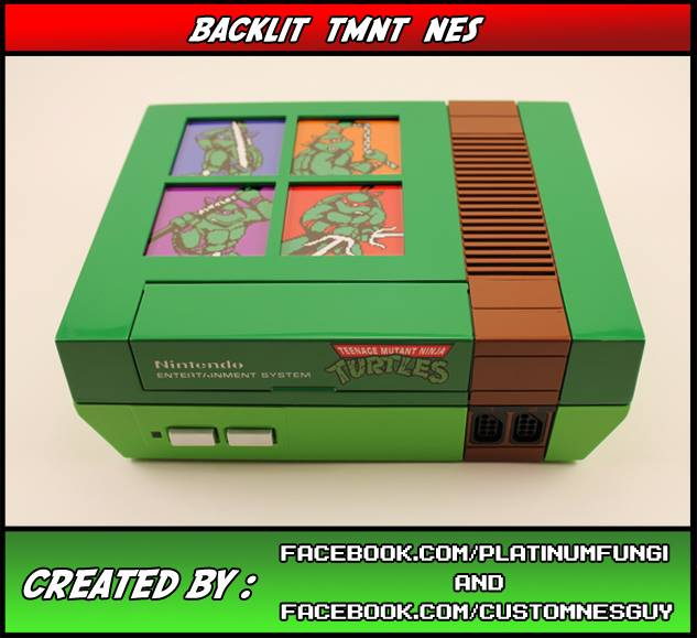 TMNT NES Console Mod