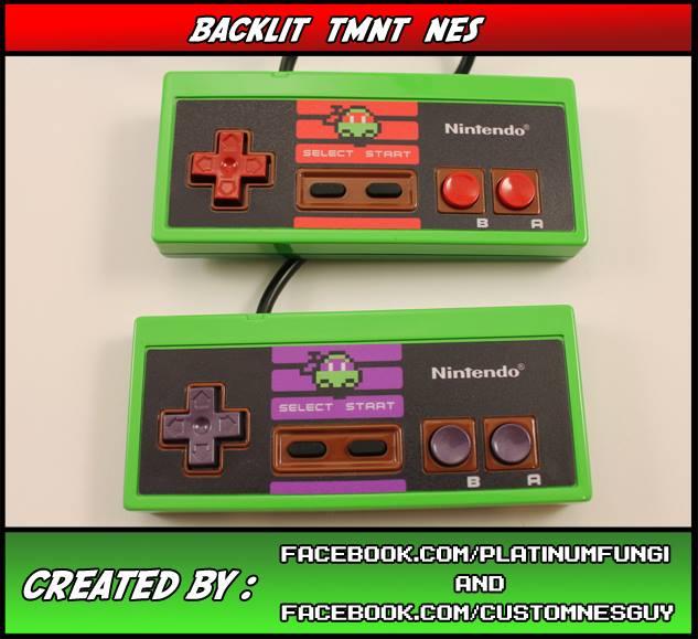 TMNT NES Controller Mod