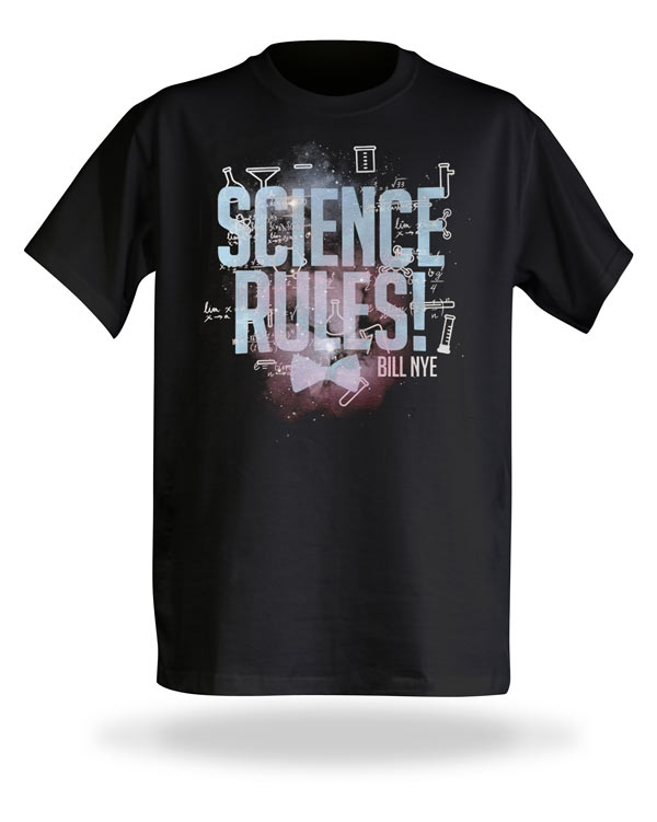 Bill Nye Science Rules T-Shirt