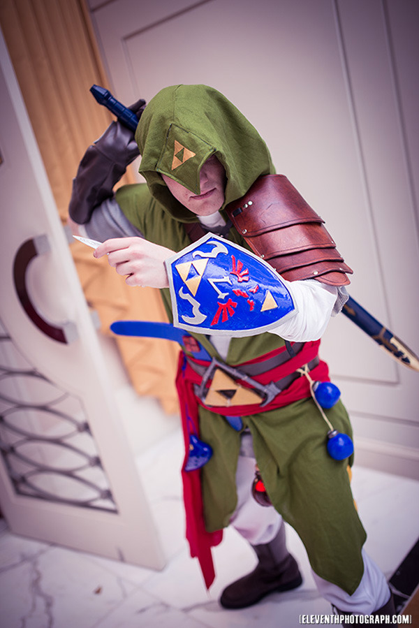 Legend of Zelda and Assassin's Creed Mash-up Cosplay