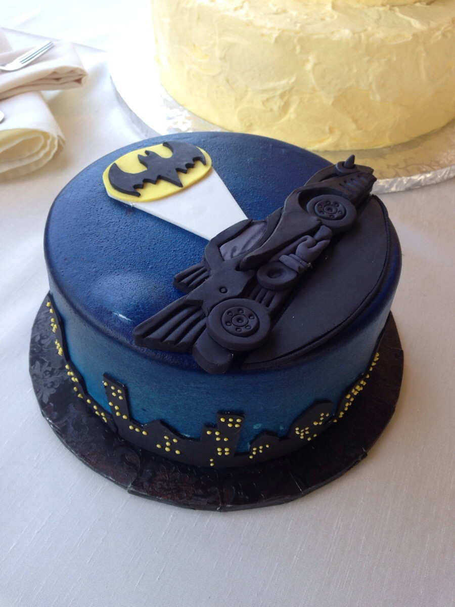 Batman Grooms Cake Ideas