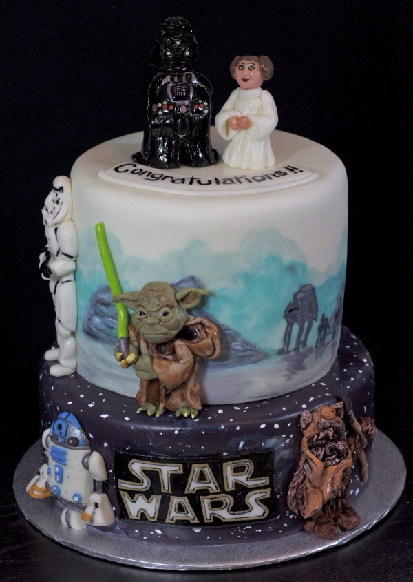 star wars wedding cake adorable wars wedding cake pic global news 7677